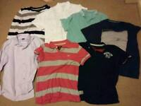 Men assorted bundle of 16 tops and shirts