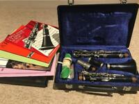 Beginners clarinet and music *£130*