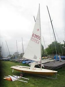 1978 Yellow Sailboat
