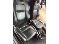 Honda Civic Ep3 Type r leather interior from 30th Anniversary