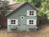 Children's two storey playhouse