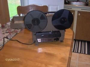 , Screen and Projector all Vintage