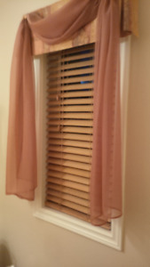 Faux Wooden Blinds (Shade-o-matic)