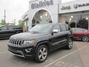 2016 Jeep Grand Cherokee Limited   4X4   BACK UP CAM   HEATED SE