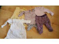 Girls Bundle age 3-6 months