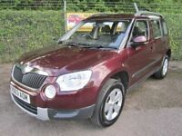 Skoda Yeti 2.0 S TDi Turbo Diesel 5DR (rosso brunello red) 2013