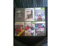 Xbox 360 games in great condition with relevant books