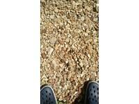 Garden gravel stones