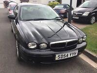 Jaguar x type classic 2.0 turbo diesel 2004 facelift model 4 door saloon mot march 94000 miles