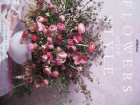 Flowers; Guides to arranging fresh and dried flowers