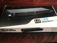 LD Systems 2U EQ215 unit Brand new!