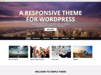 Website Building, Create a Website, Responsive, Clean and Manageable with WordPress