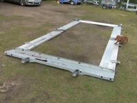 SET OF GENUINE BRIAN JAMES ALLOY TRAILER SIDES (X4) HEADBOARD TAILBOARD & POSTS PINS ETC..