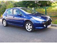 Peugeot 307 1.6 SE with New 1 YRS MOT