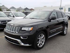 Jeep Grand Cherokee Summit 2015 CUIR/GPS/TOIT PANO