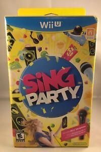 Nintendo WiiU Sing Party Bundle
