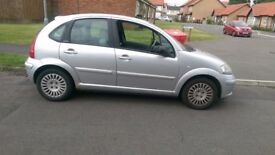 C3 exclusive,leather interior,cruise,dual climate,fuel heat sensor fault ,couple of dings ,good car.