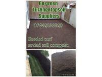 Go green turfing & topsoil