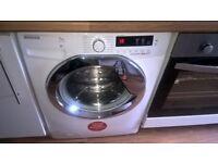 Hoover Dynamic next 7 k washing machine 6 months old