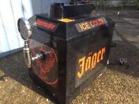 Jäger dispenser makes drinks ice cold
