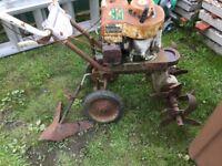 Garden rotovator garden roller barrow +++