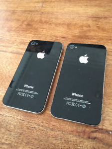 TWO used iPhone 4s! 16GB UNLOCKED