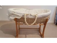 BRAND NEW MOSES BED FOR 0-3 MONTH BABY