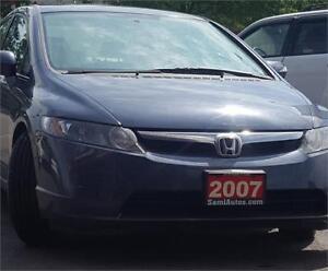 2007 Honda Civic Hybrid 2 YRS WARRANTY