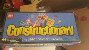 Constructionary Lego Game- Collectible