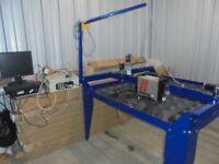 cnc plasma cutter hypertherm machine 4ft x 4ft