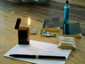 Briquet ET stylo Dupont