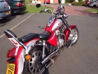 Kinrod 125cc swap for smaller 125cc