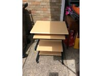 Two computer desks available