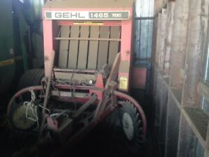 Gehl Round Baler for sale