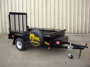 4'x8' Landscape Utility Trailer - Loaded with Cont