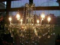 Fabulous 6-Branch French style Crystal Chandelier