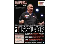 "An Evening with Phil ""THE POWER"" Taylor and Dennis Priestley"
