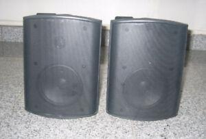Audio Trak BSI-500 Bookshelf Speakers (Indoor/Outdoor)