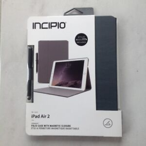"""APPLE IPAD """"AIR 2"""" magnetic SMART CASE with STYLUS-BRAND NEW $15"""