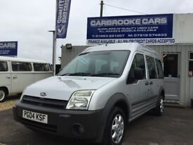 2004 04 FORD TRANSIT CONNECT TOURNEO - 87000 MILES - 12 MONTHS MOT - SERVICED - WARRANTY -