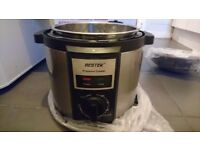 New in box electric pressure cooker