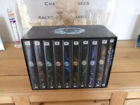 X FILES COMPLETE COLLECTORS EDITION DVD 1-9 PLUS MOVIE,EXCELLENT CONDITION.
