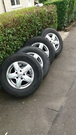 fiat ducato alloy wheels 215/70/r15