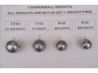 Lead Fishing Weights for kayak & boats (Sinkers)