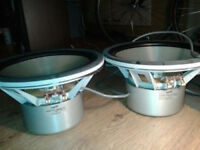 2x SUBWOOFER VELODYNE DF-12 SC 12, excellent condition, SUPER RARE, single and single