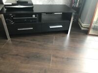 Black tv stand (RRP £79.99)