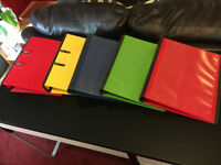 Heavy duty folders - assorted colour (blue, red, green, yellow)