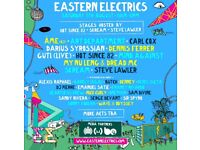 Eastern Electrics (EE) festival Saturday ticket