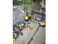strimmers etc spares or repairs