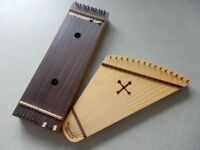 Handmade Psaltery and Chord Box